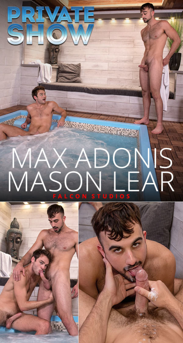 FalconStudios Private Show Max Adonis Mason Lear suck each other off