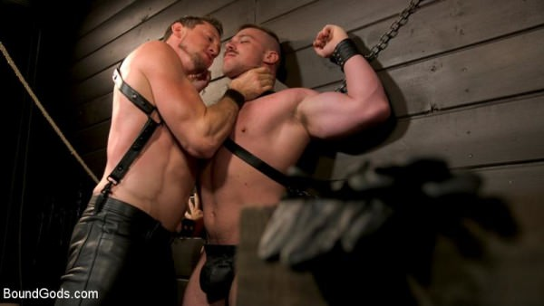 BoundGods Beefcakes Pierce Paris and Blake Hunter Battle for Dominance!