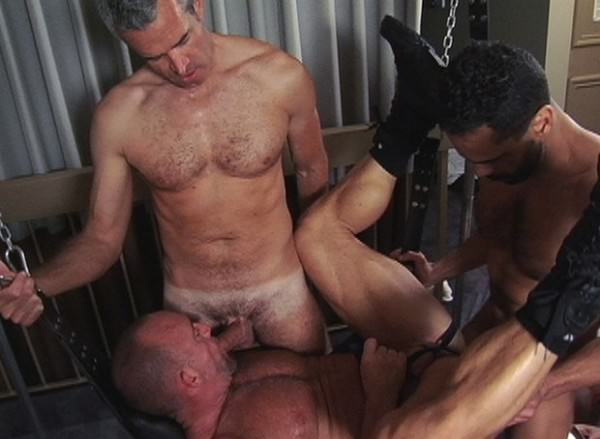 TIMFuck Sling 3-way Fuck Derek Anthony, Mannie Mark Dixon Bareback