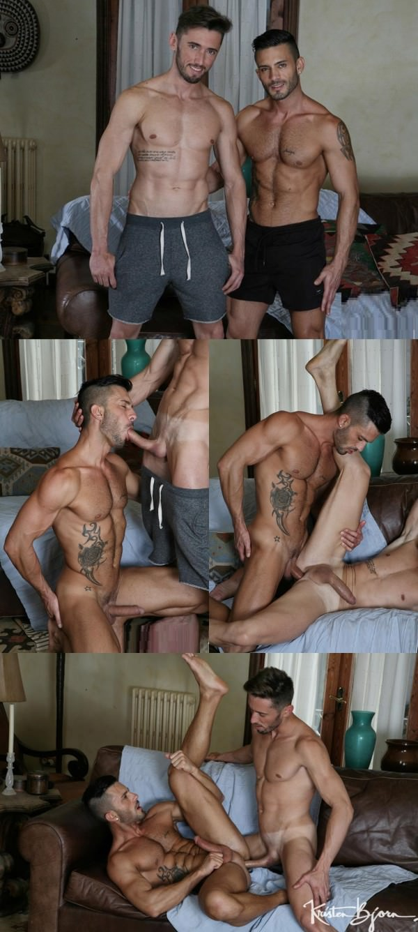KristenBjorn Casting Couch #392 Andy Star Marcos Oliveira Bareback