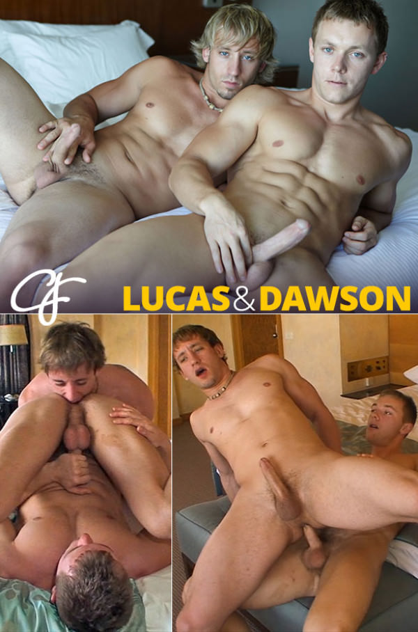 CorbinFisher Lucas Dawson flip fuck bareback in New Zealand