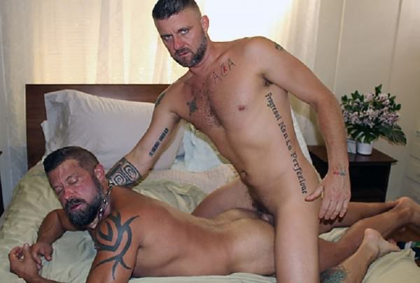 DudesRaw Jasper Gets Pounded By Christian Bareback