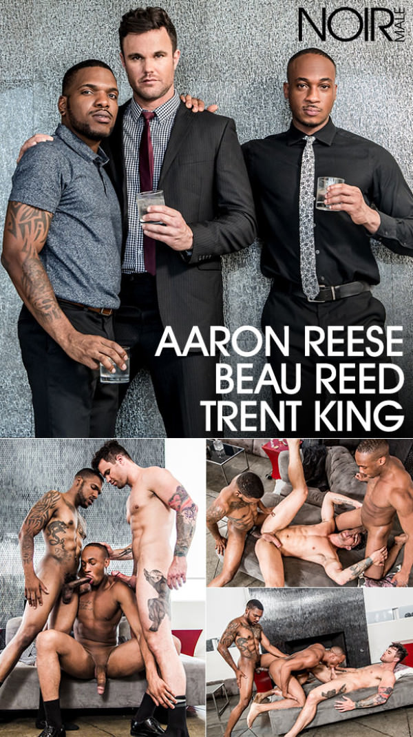 NoirMale My Best Men - Trent King, Aaron Reese and Beau Reed's threesome