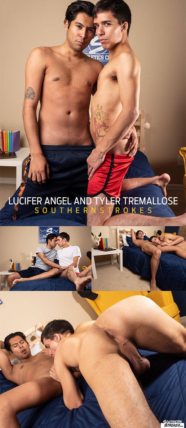 SouthernStrokes Ass On the Line Lucifer Angel Tyler Tremallose Bareback