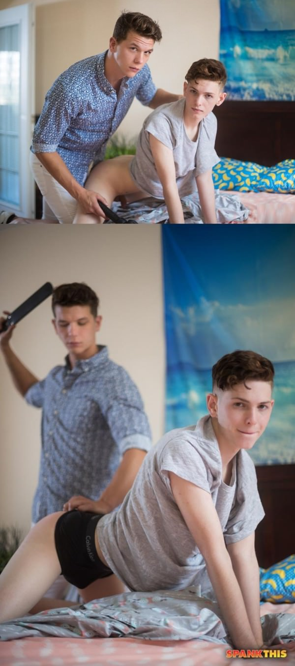 HelixStudios Hands On Johnny Hands Riley Finch Spank This