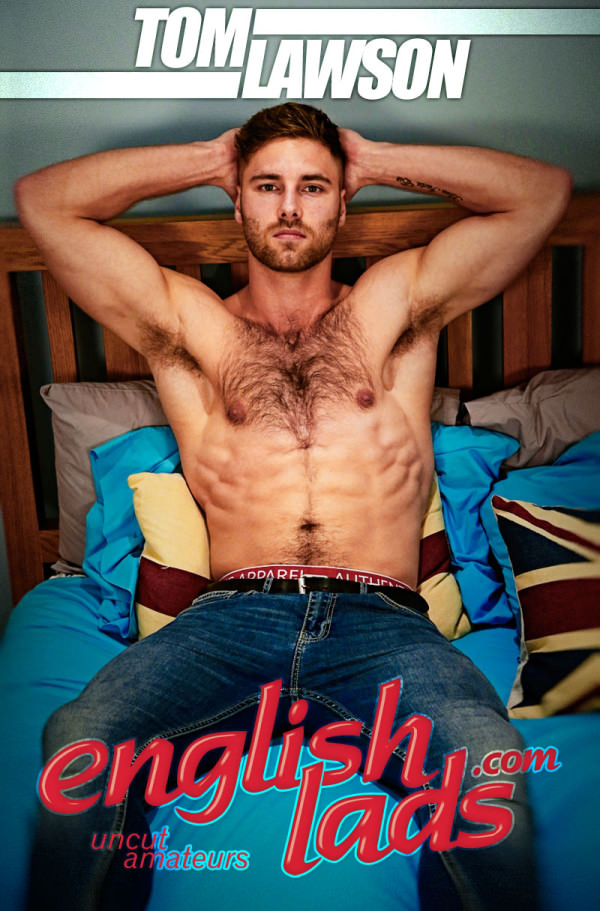 EnglishLads Straight Hairy Hunk Tom Lawson gets his 1st Manhandling and Wow Cums, Cums Cums Some More