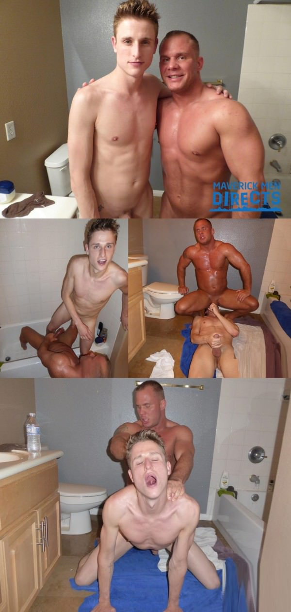 MaverickMenDirects Breed me in the shower muscle daddy Bareback