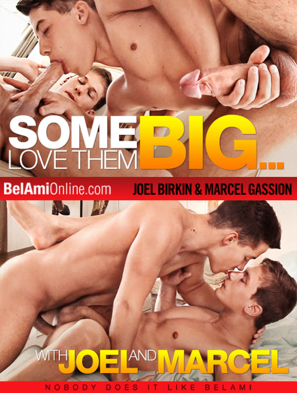 BelAmiOnline Marcel Gassion gets fucked raw and deep by Joel Birkin and his 10-inch cock