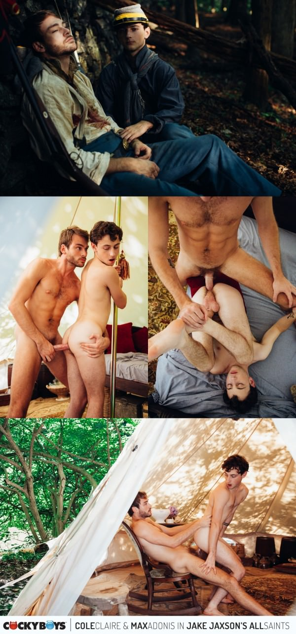 CockyBoys Jake Jaxson's All Saints Chapter 2 Cole Claire Max Adonis