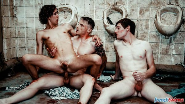 FrenchTwinks Saw Gay Chris Loan, Paul Delay Lucas Bouvier