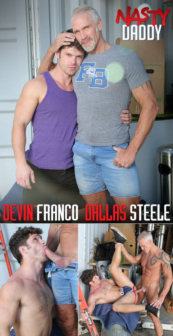 NastyDaddy Pig Trainer Thick-dicked muscle daddy Dallas Steele creampies Devin Franco Bareback