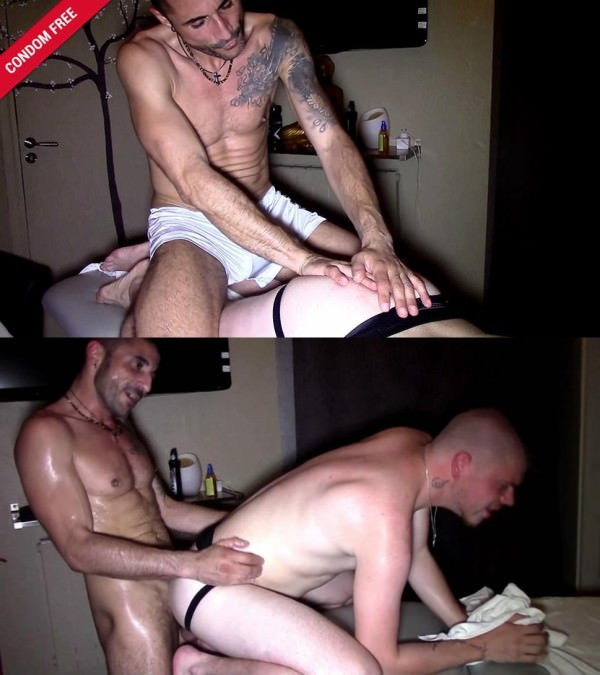 FrenchDudes A Very Manly Massage Leo Senthy Max Toro Bareback