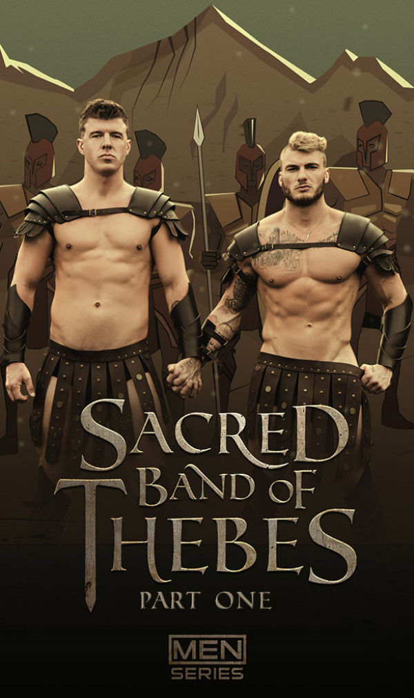 Men.com Sacred Band of Thebes, Part 1 William Seed bottoms for JJ Knight DrillMyHole