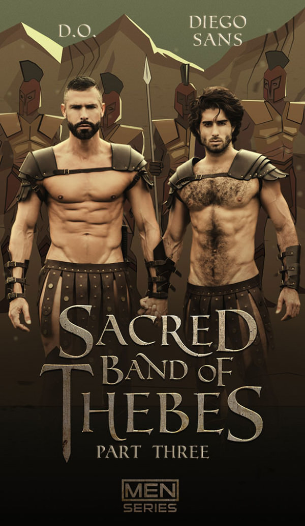 Men.com Sacred Band Of Thebes, Part 3 Diego Sans bangs D.O. DrillMyHole