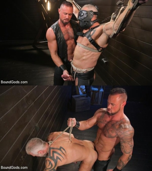 BoundGods Serve Your Master Michael Roman Shows Dallas Steele Who's In Charge