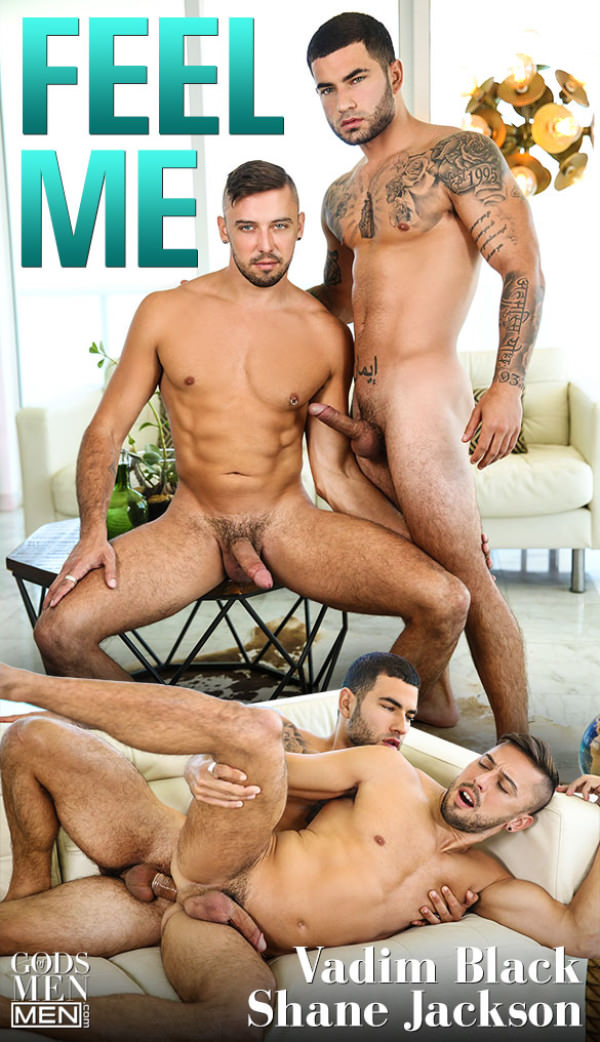 Men.com Feel Me Vadim Black fucks Shane Jackson GodsofMen