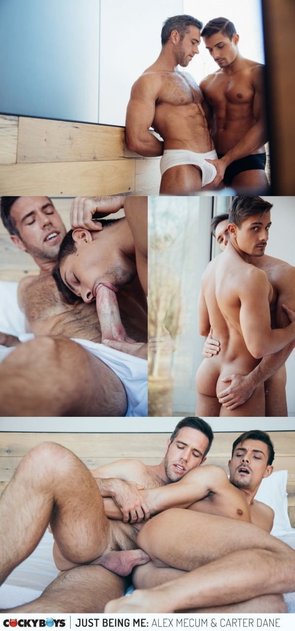 CockyBoys Reunited and it feels soooo good Alex Mecum & Carter Dane are BACK with some RAW Passionate Fucking