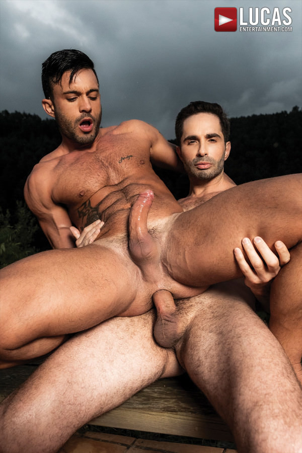 LucasEntertainment Michael Lucas Breeds Andy Star Bareback