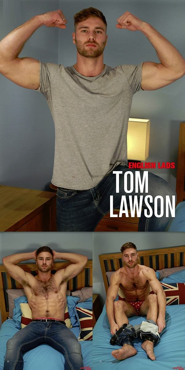 EnglishLads Straight Hairy Hunk Tom Lawson gets his 1st Manhandling and Wow Cums, Cums & Cums Some More