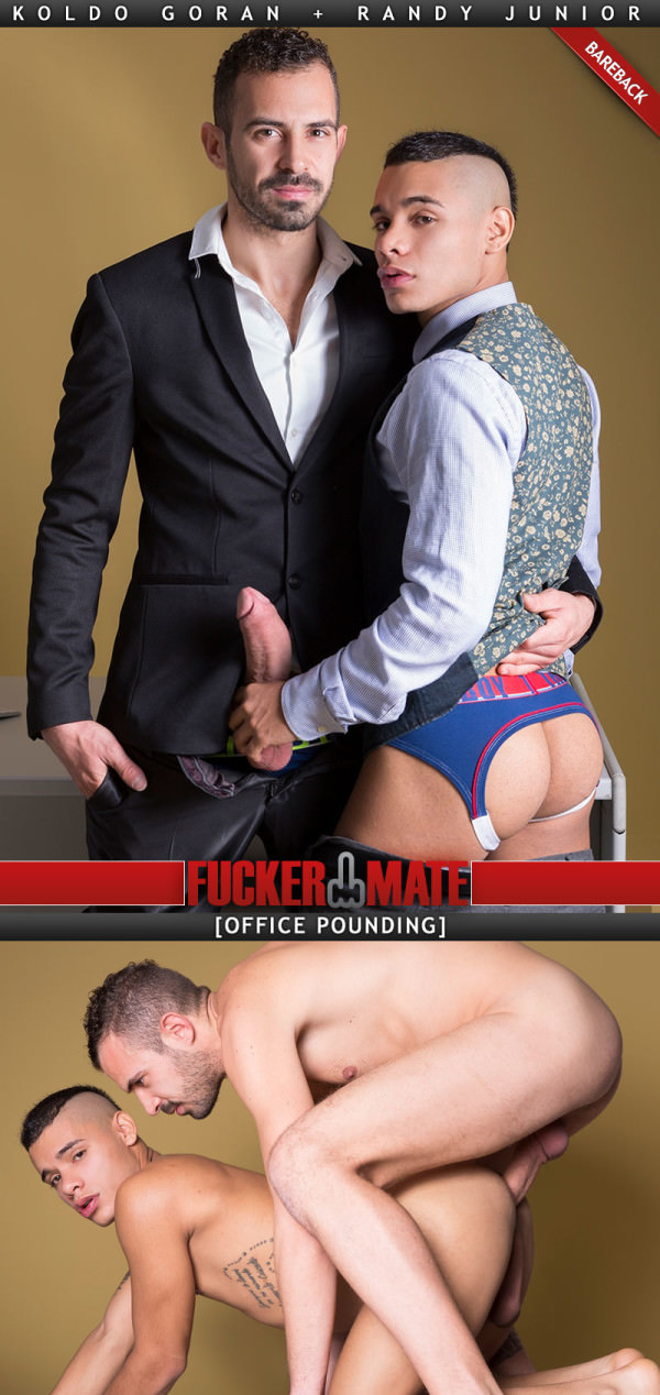 Fuckermate Office Pounding Koldo Goran Fucks Randy Junior Bareback