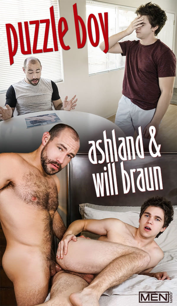 Men.com Puzzle Boy Ash land fucks Will Braun Str8toGay