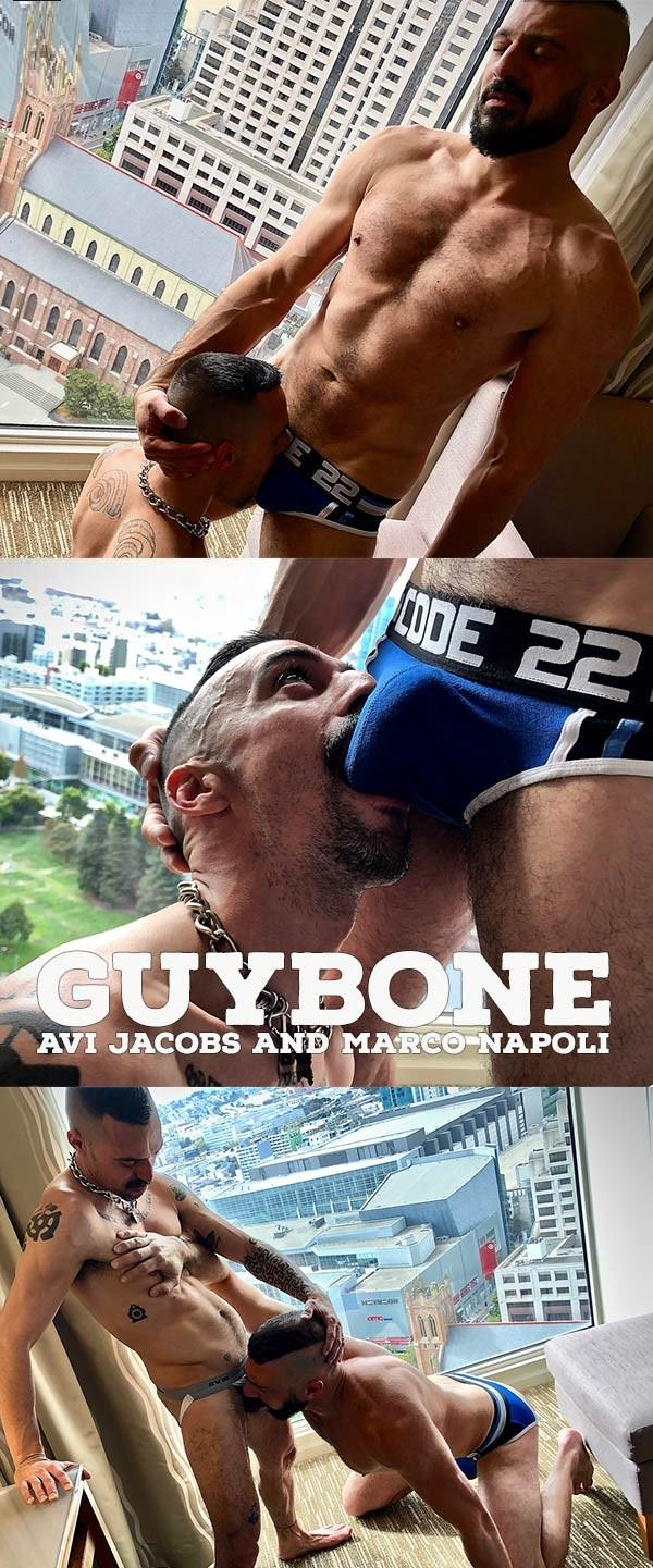 GuyBone Avi and Marco Flip Raw Avi Jacobs Marco Napoli Bareback