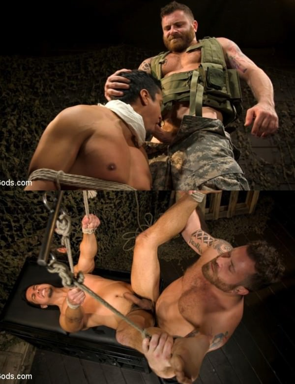 BoundGods Interrogation 431 Hiker Tony Prower questioned by Riley Mitchell