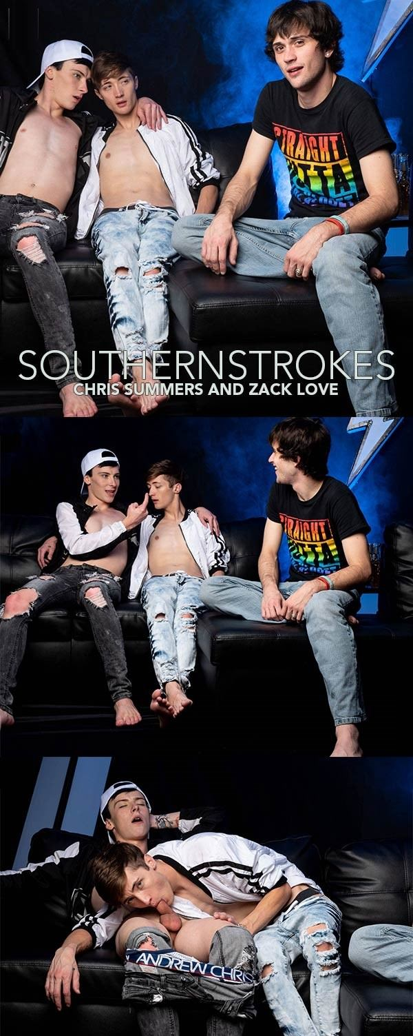 SouthernStrokes Letting Loose Adam Strong, Chris Summers Zack Love Bareback