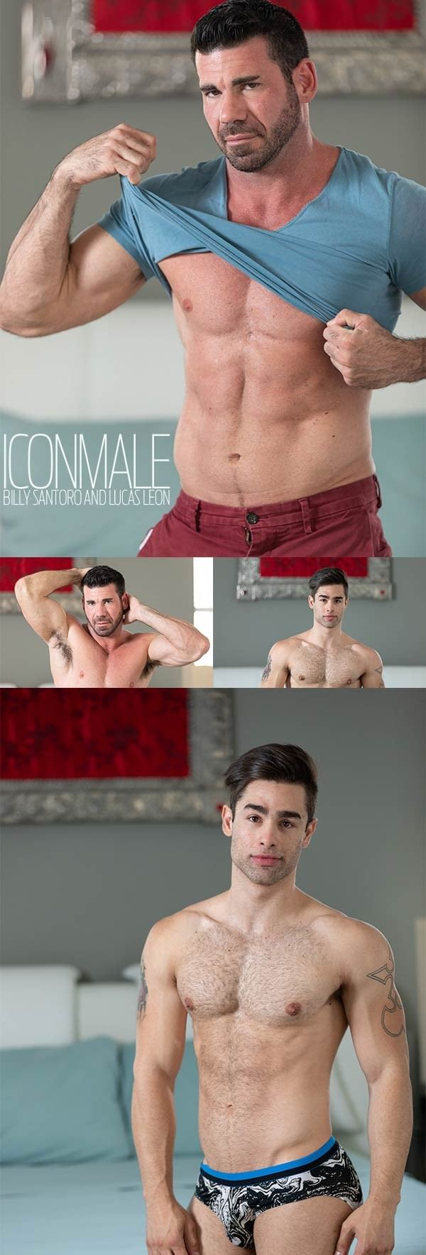 IconMale Last Resort! Billy Santoro Lucas Leon