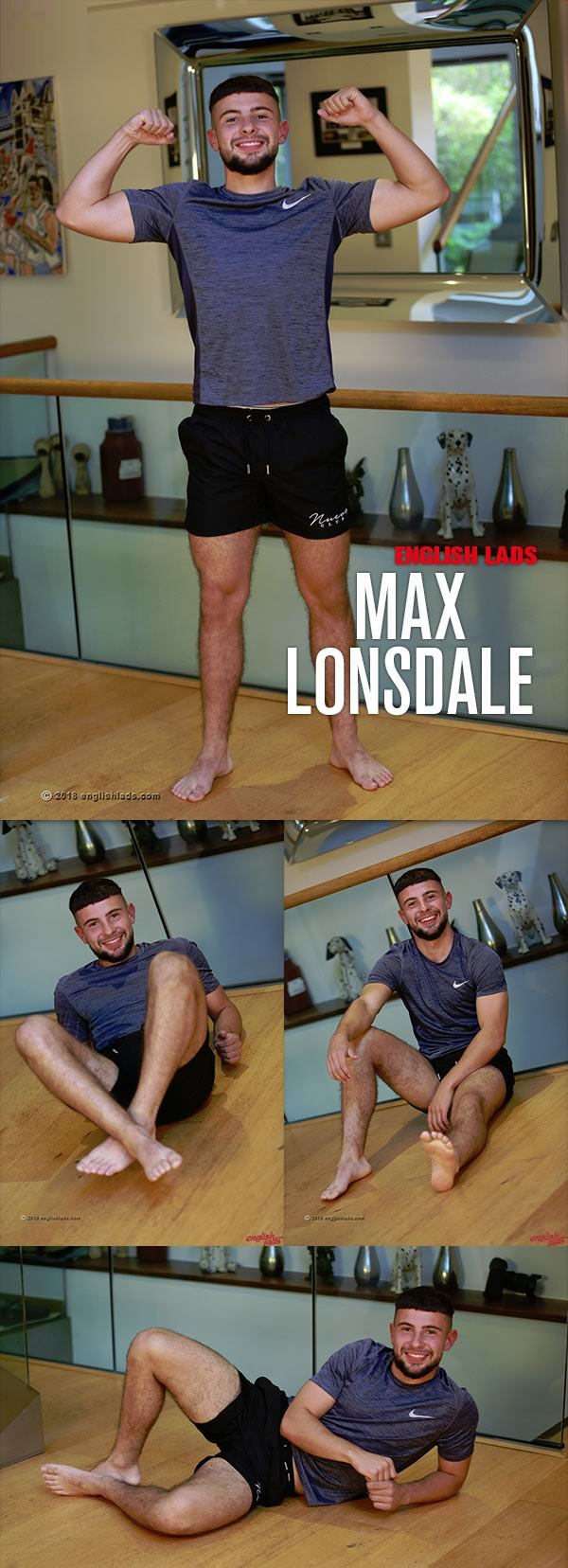 EnglishLads Straight Lad Max Strips And Shows His Athletic Body Wanks His Big Uncut Cock Max Lonsdale