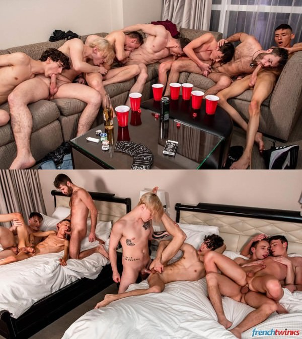 FrenchTwinks US Road Dick Episode 2 Enzo Lemercier, Paul Delay, Chris Loan, Doryann Marguet, Chris Summers, Justin Stone Alex Killborn