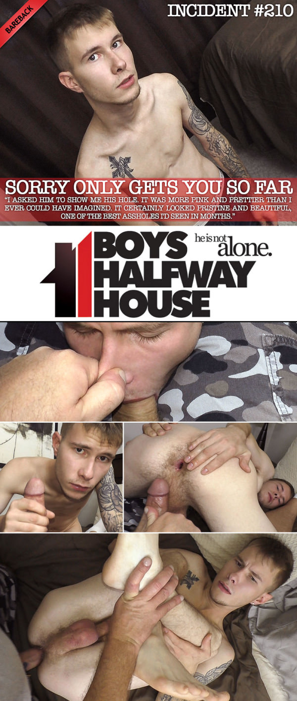 BoysHalfwayHouse Incident #210 Sorry Only Gets You So Far Keene