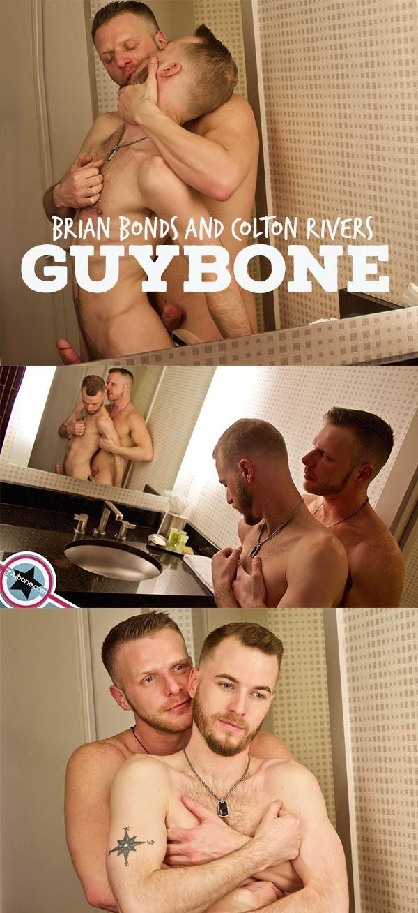GuyBone Brian Bonds and Colton Rivers Bareback