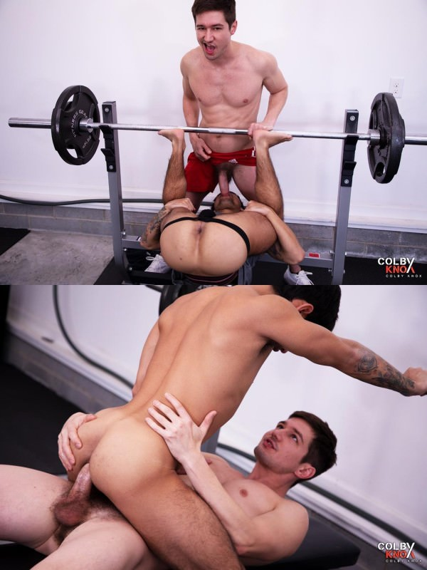 ColbyKnox Free Form Gym Fuck - Colby Chambers Ty Mitchell Bareback
