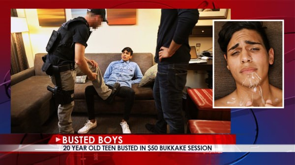 Busted Boys Ariano A Tight Spot
