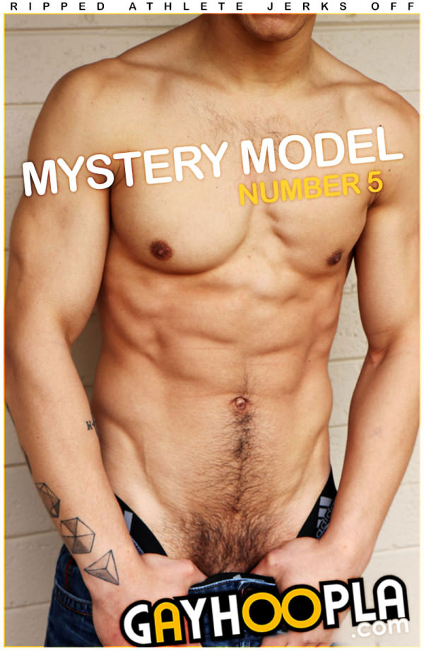 GayHoopla Mystery Members Only Model #5 Tall Athletic Jock Mani Storms Jerks Off