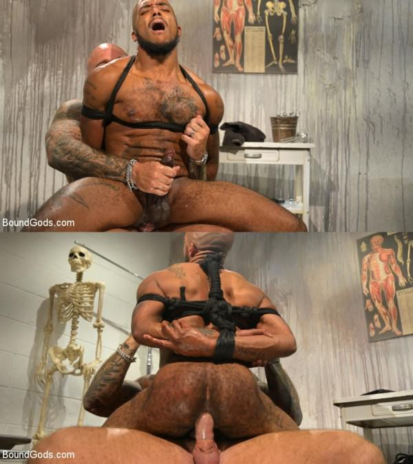 BoundGods The UnorthoDoc Jason Collins Hits Micah Martinez With BDSM Therapy