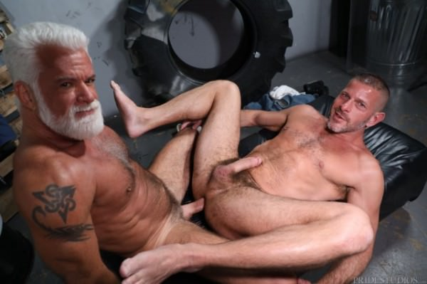 MenOver30 Backroom Sex Diaries Part 1 Clay Towers Jake Marshall Bareback