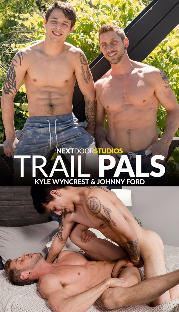 Trail Pals - Johnny Ford and Kyle Wyncrest Cover