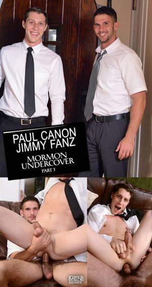DrillMyHole – Mormon Undercover Part 3 – Jimmy Fanz fucks Paul Canon – Men.com
