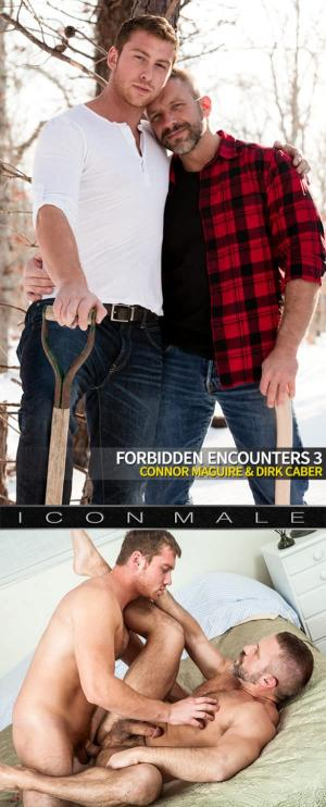IconMale – Forbidden Encounters 3 – Connor Maguire fucks Dirk Caber