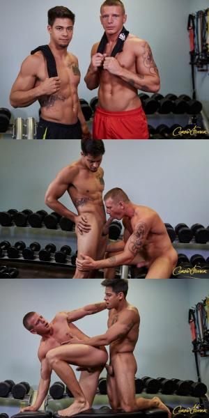 CorbinFisher – Marc & Rowan Pump Up – Bareback