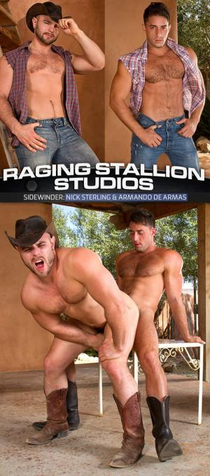RagingStallion – Sidewinder – Armando de Armas fucks Nick Sterling