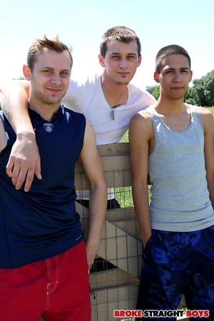BrokeStraightBoys – Dustin Powers, Jaxon Ryder & Chandler Scott