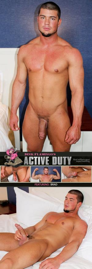 ActiveDuty – Brad busts a nut – Solo