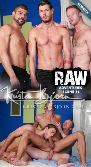 KristenBjorn – Raw Adventures: Hot Winter Scene 16 – Arnau Vila, Toby Dutch & Tom Vojak – Bareback