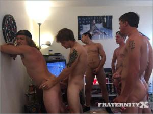 FraternityX – Pinned Down And Pounded – Bareback