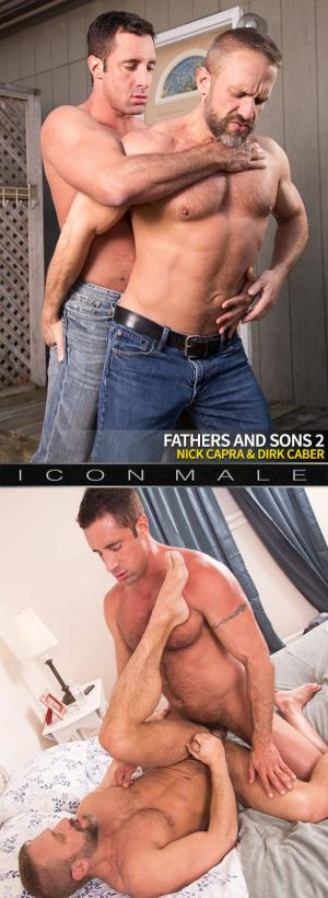 IconMale – Fathers and Sons 2 – Nick Capra fucks Dirk Caber