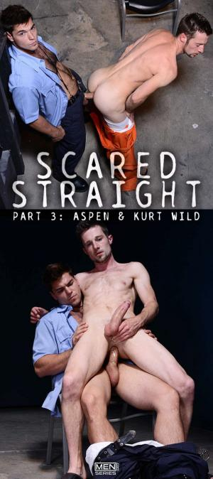 Str8toGay – Scared Str8, Part 3 – Kurt Wild gets pounded by Aspen – Men.com