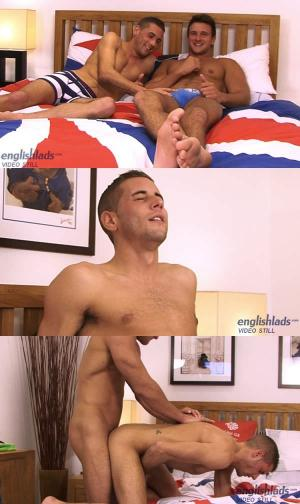 EnglishLads – Muscular Personal Trainer Drew Daniels Fucks his 1st Guy – Dan is Nearly Split in Two! – Dan Broughton & Drew Daniels